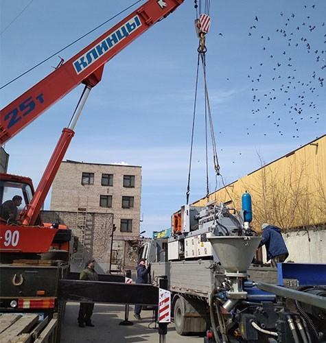 Перевозка промышленного оборудования в Люберцах
