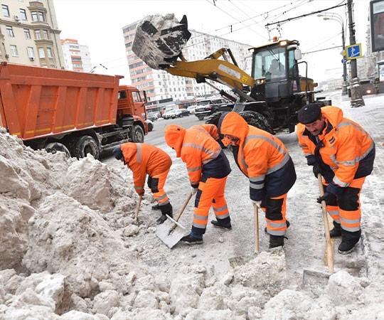 Уборка снега в Люберцах и Московской области