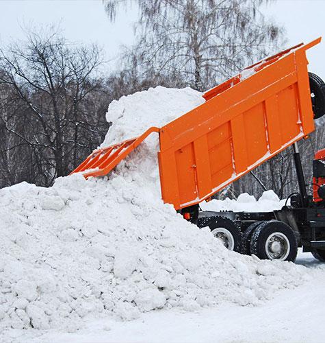 Услуга по уборке снега в Люберцах