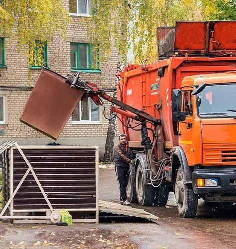 Услуги по вывозке мусора в Люберцах