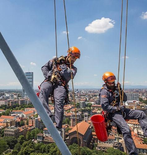 Услуги промышленного альпинизма в Люберцах