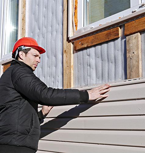 Отделка и ремонт фасада в Люберцах